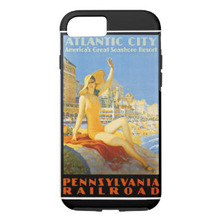 Pennsylvania Railroad to Atlantic City iPhone 7 Case