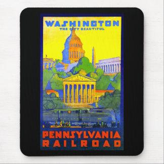 Pennsylvania Railroad to Washington D.C. Mouse Mat