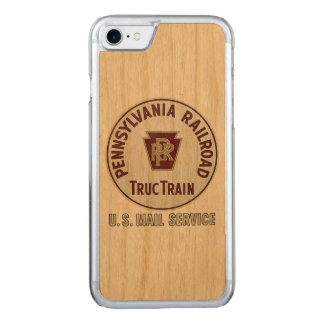Pennsylvania Railroad TrucTrain Service Carved iPhone 8/7 Case