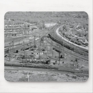 Pennsylvania Railroad Zoo Junction Mouse Mat