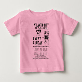 Pennsylvania-Reading Seashore Lines 1962 Baby T-Shirt
