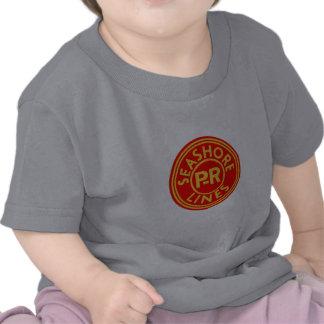 Pennsylvania-Reading Seashore Lines Logo T Shirt