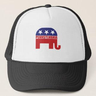 Pennsylvania Republican Elephant Trucker Hat