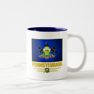 Pennsylvania (SP) Two-Tone Coffee Mug