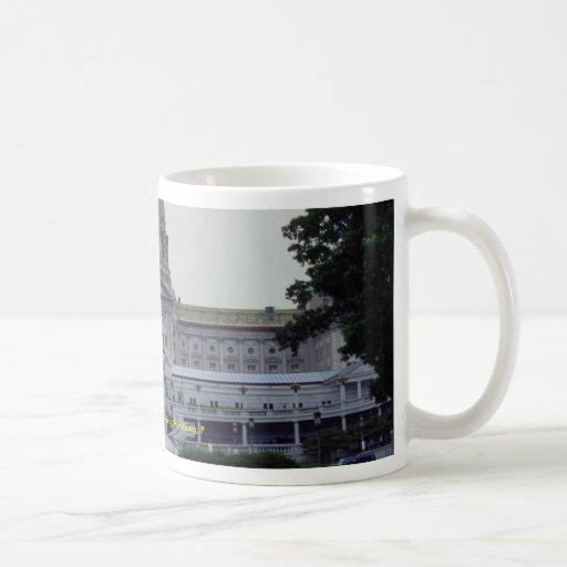 Pennsylvania State Capitol Building, Harrisburg, P Basic White Mug