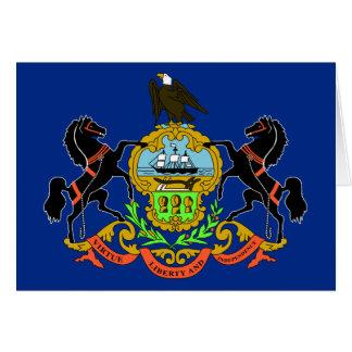 Pennsylvania State Flag Card