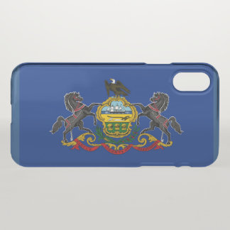 Pennsylvania State flag iPhone X Case