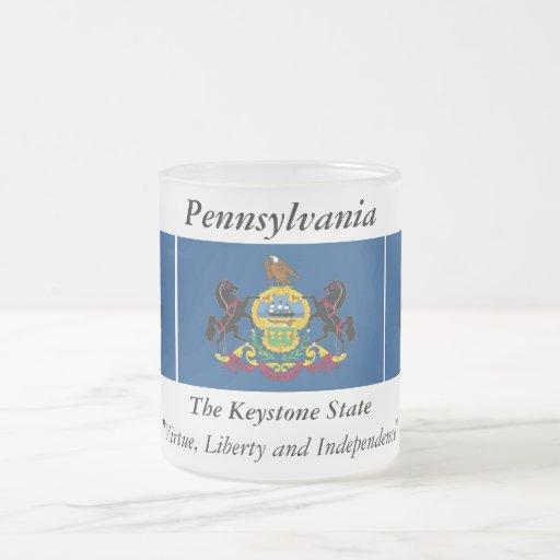 Pennsylvania State Flag Mugs