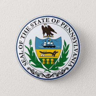 Pennsylvania state seal america republic symbol fl 6 cm round badge