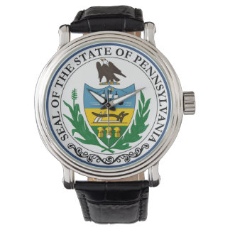 Pennsylvania state seal america republic symbol fl watch