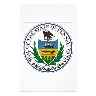 Pennsylvania State Seal Stationery