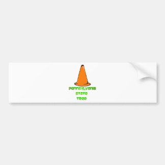 Pennsylvania State Tree Bumper Sticker