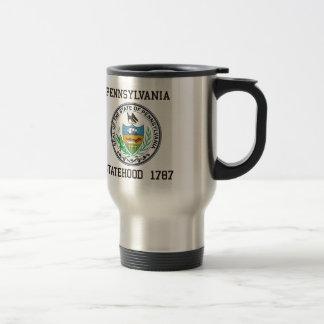 Pennsylvania Statehood Travel Mug