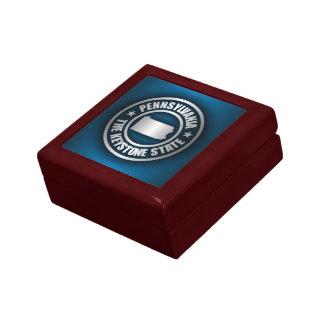 Pennsylvania Steel (B) Small Square Gift Box