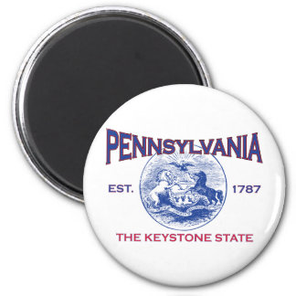 PENNSYLVANIA The Keystone State Magnet