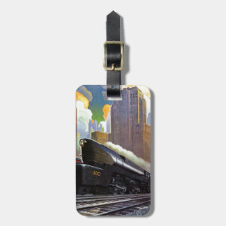 Pennsylvania Train by Unknown Luggage Tag