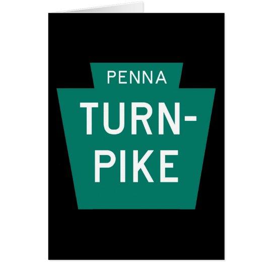 Pennsylvania Turnpike Card