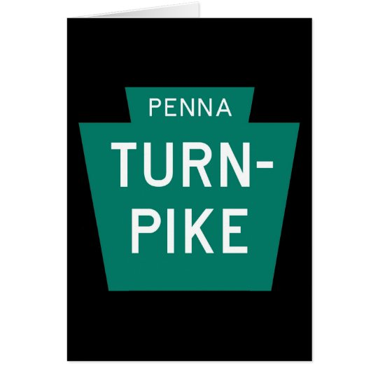 Pennsylvania Turnpike Greeting Card