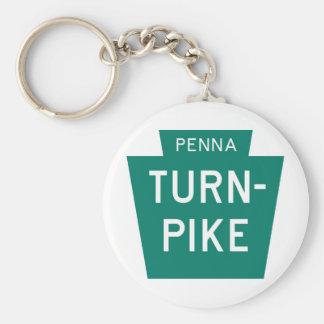 Pennsylvania Turnpike Key Ring