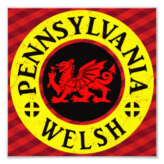 Pennsylvania Welsh American Photographic Print