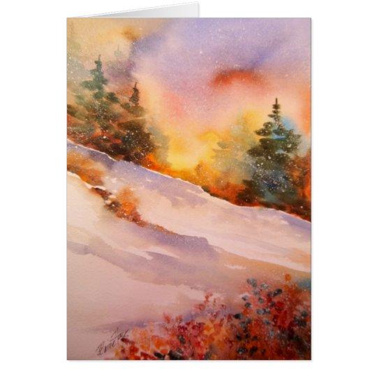 Pennsylvania Winter Sunrise Note Card
