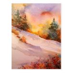 Pennsylvania Winter Sunrise Postcard