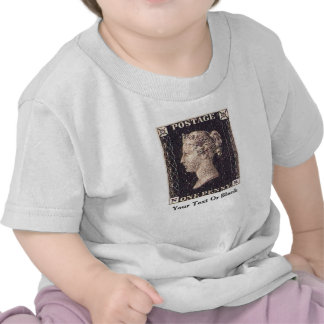 Penny Black Postage Stamp Shirt