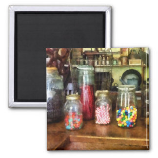 Penny Candies Square Magnet