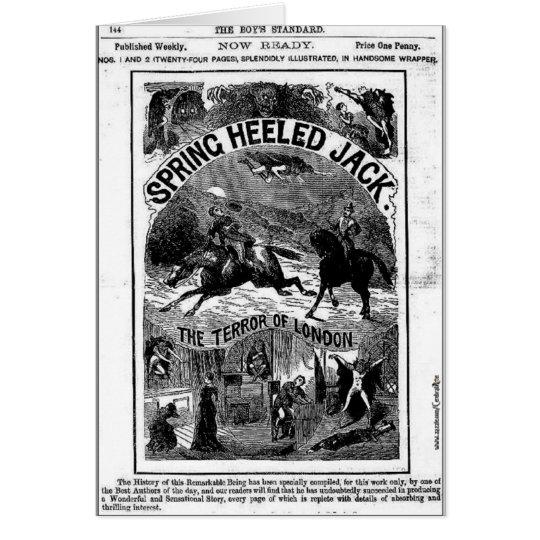 penny dreadful - spring-heeled jack card