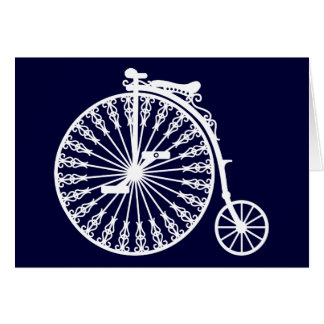 Penny-farthing2 Greeting Card