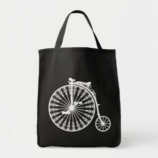 Penny-farthing2 Grocery Tote Bag