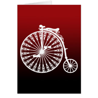 Penny-farthing2 Note Card