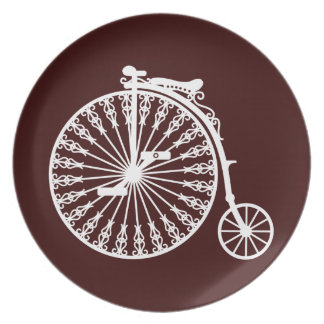 Penny-farthing2 Party Plate