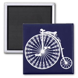 Penny-farthing2 Square Magnet