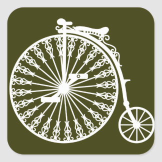 Penny-farthing2 Square Sticker
