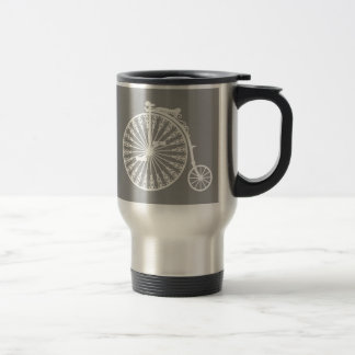 Penny-farthing2 Stainless Steel Travel Mug