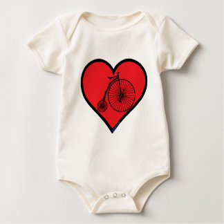 penny farthing baby bodysuits