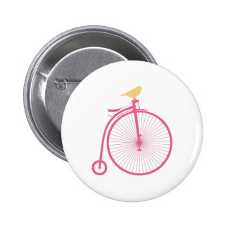 Penny Farthing Pinback Buttons