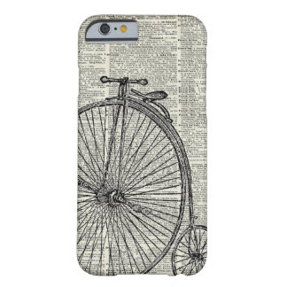 Penny Farthing bicycle Barely There iPhone 6 Case
