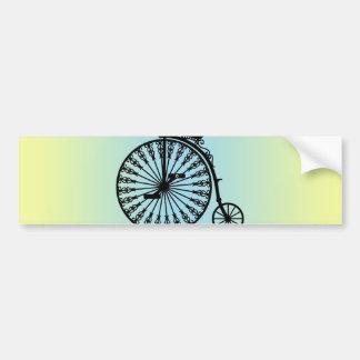 Penny-farthing Bumper Sticker