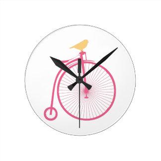 Penny Farthing Clock