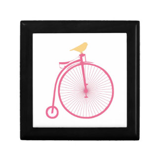 Penny Farthing Jewelry Box