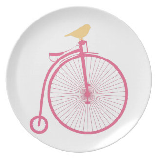 Penny Farthing Party Plates