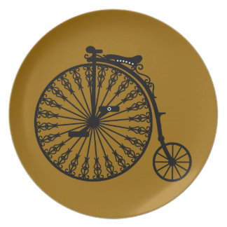 Penny-farthing Plates
