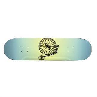 Penny-farthing Skate Board Deck
