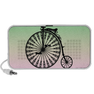 Penny-farthing Travelling Speakers