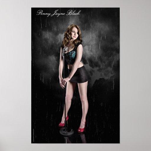 Penny Jayne Black - Poster