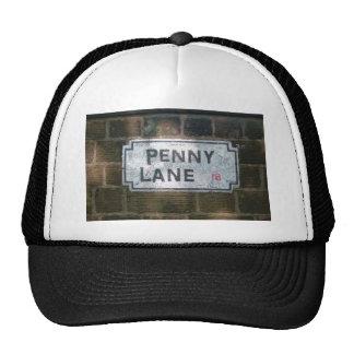 Penny Lane Street Sign, Liverpool UK Cap
