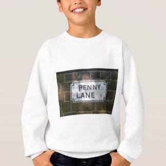Penny Lane Street Sign, Liverpool UK Sweatshirt