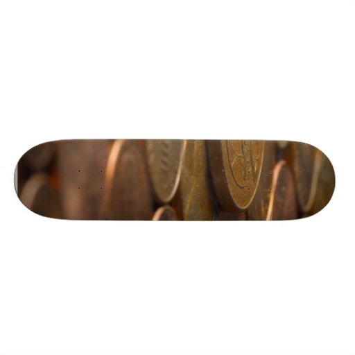 Penny Pennies Coins Money Skateboard